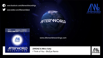 AfterwordTVChannel - I Think of You  BluEye Remix 438x246