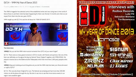 VMM DJ TH My Year of Dance Dec 2013
