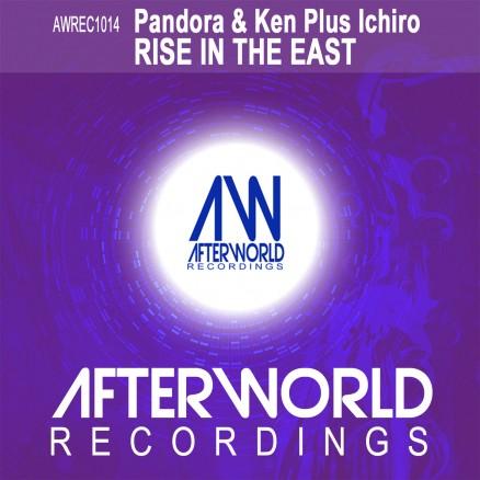 AWREC1014 Pandora & Ken Plus Ichiro Rise in the East - Cover