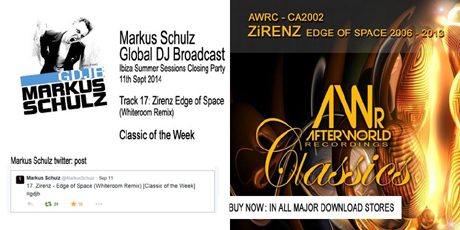 GDJB Markus Schulz Classic of The Week - Zirenz & Aurosonic You Fade Away 460x