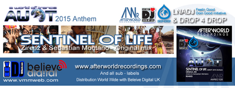 AWR460 - Afterworld Recordings & Sub-labels AWOT Anthem 2015 LNADJ Drop4drop