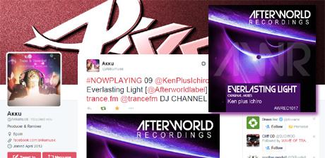 Ken Plus Ichiro Everlasting Light Radio support - AKKU trance fm