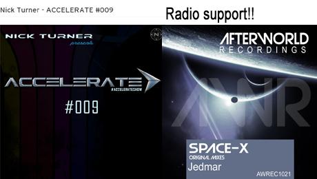 Nick Turner - ACCELERATE #009 Jedmar space x original mix