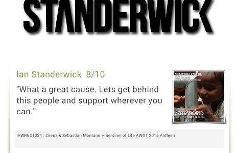 IAN STANDERWICK - SENTINEL OF LIFE Ken Plus Ichiro Remix support 8-10