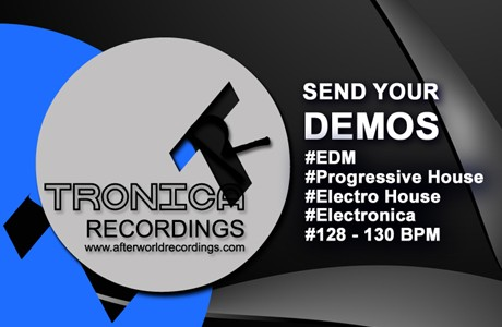 news 460 - Tronica recordings send your demos 2016