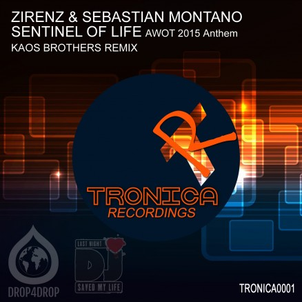 TRONICA0001 Cover  SENTINEL OF LIFE - KAOS BROTHERS Remix C3