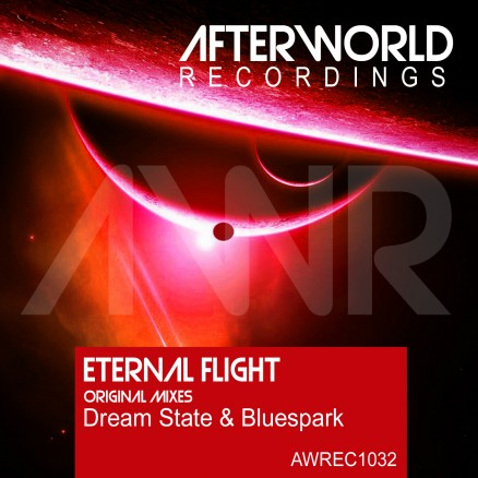 AWREC1032 eternal flight- dreamstate and bluespark COVER