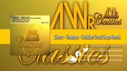 AWRECCL-2007 - Zirenz - Timeless - Christian Drost Remix DEEP REMIXES 1280x720