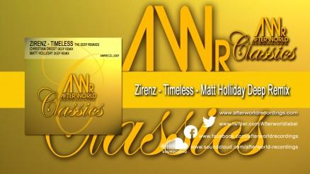 AWRECCL-2007 - Zirenz - Timeless - Matt Holliday Remix DEEP REMIXES 1280x720 jpg