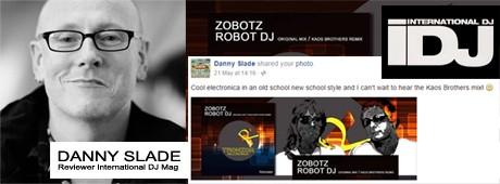 DANNY SLADE IDJ Mag ZOBOTZ Quote 460