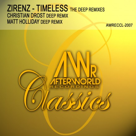 AWRECCL-2007 Zirenz - Timeless THE DEEP REMIXES - COVER jpg