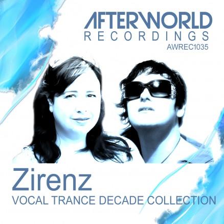 AWREC1035 Zirenz Vocal Trance Decade Collection COVER