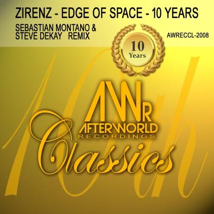 AWRECCL-2008 Zirenz edge of space 10thYears Montano & Dekay Remix - COVER