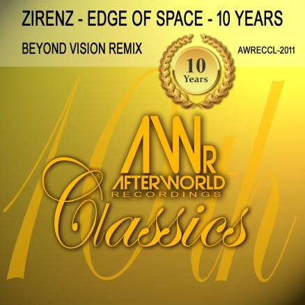 AWRECCL-2011 Zirenz edge of space 10thYears Beyond Vision - COVER jpg