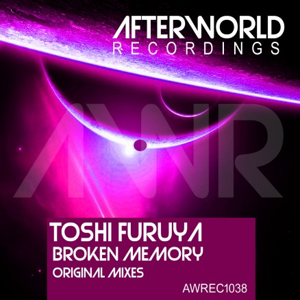 awrec1038-toshi-furuya-broken-memory-original-mixes-cover