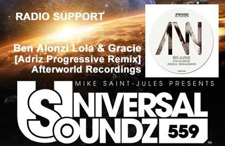 UNIVERSAL SOUNDS 559 BenAlonzi Lola & Gracie Adriz Remix