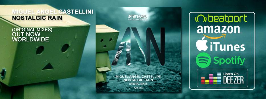 Beatport – Miguel Angel Castellini – Nostalgic Rain Original Mixes